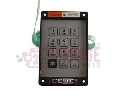 Garage Door Keypad Replacement Genie Replacement Keyboard For Garage Door Opener Universal Wired Keypad Model Kep 1 Original