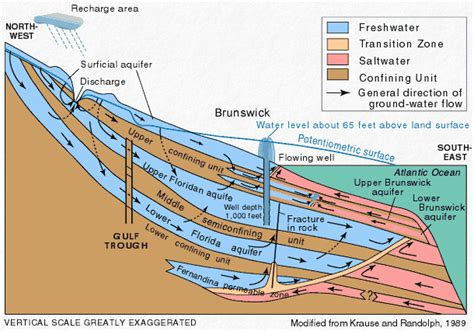 artesian well diagram artesian definition what is