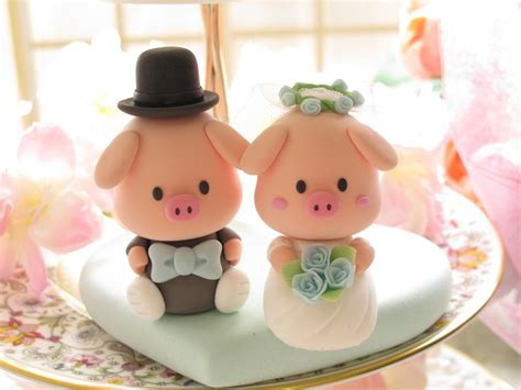 Handmade Wedding Cake Toppers - wedding cake toppers handmade wedding finds from etsy 3