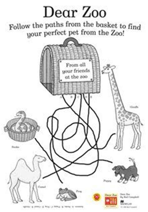 dear zoo coloring page dear zoo on pinterest