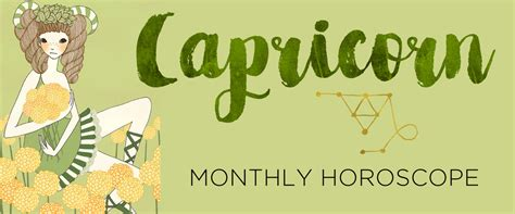 Capricorn Monthly Horoscope capricorn monthly horoscope by the astrotwins astrostyle
