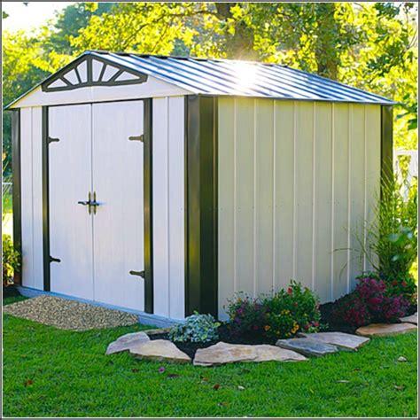 Design Gartenhaus Metall