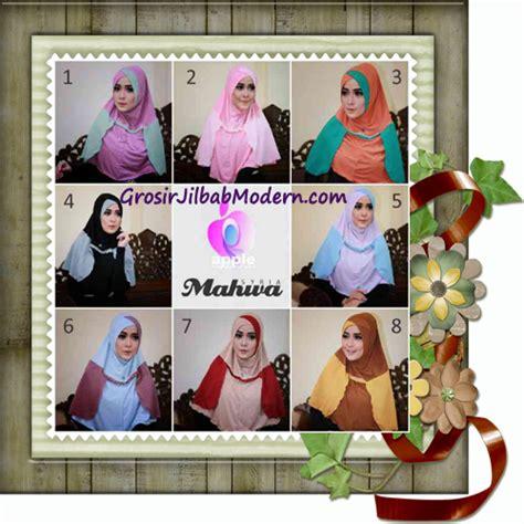Jilbab Instan Elegan jilbab instant terbaru syria mahwa elegan by apple