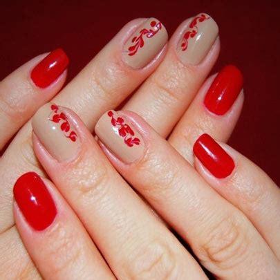 imagenes de uñas pintadas de rojo y negro ideas para decorar las u 241 as de rojo mis u 241 as decoradas