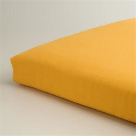 yellow bench cushion yellow outdoor bench cushion world market