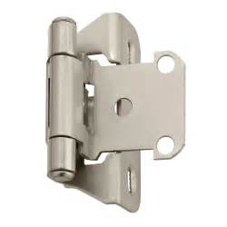 Cabinet Hinges Amerock Bpr7566 Functional Self Closing Partial Wrap