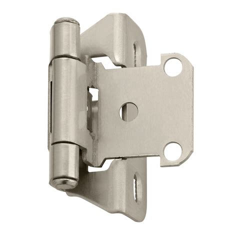 Kitchen Cabinet Hinge Hardware Amerock Bpr7566 Functional Self Closing Partial Wrap Cabinet Hinge Pair Atg Stores