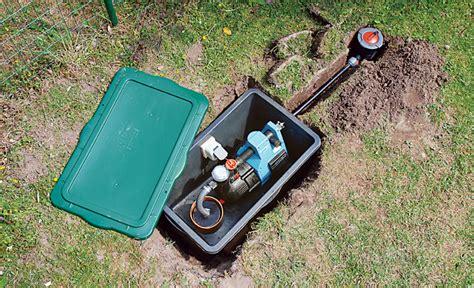 Hauswasserwerk Selber Bauen by Brunnen Bohren Wasser Im Garten Teich Bild 46