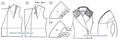 pattern drafting of collars drafting coat with shawl collar pattern making com