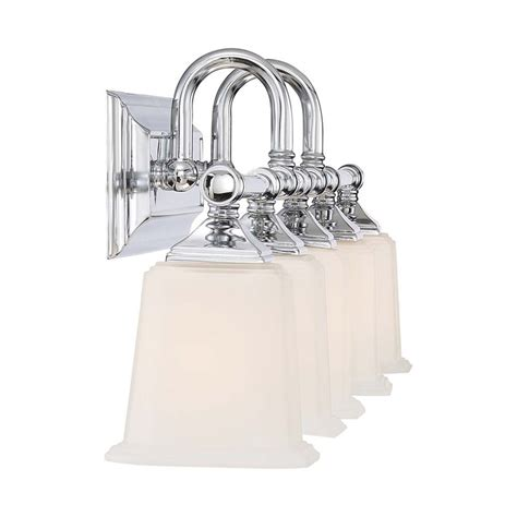 Quoizel Vanity Light Quoizel Nicholas 5 Light Vanity Light In Polished Chrome