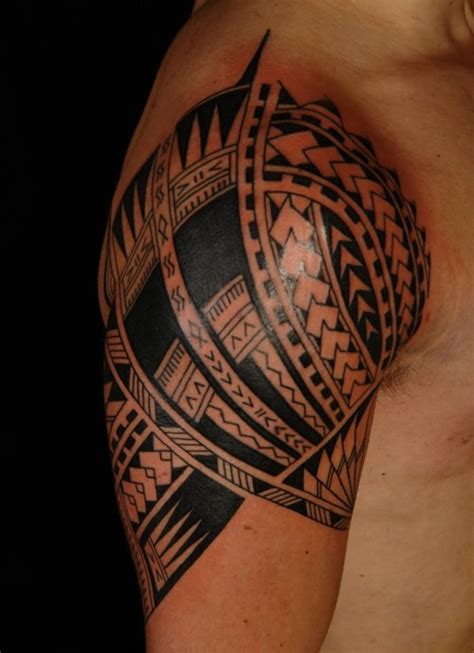 cool tribal shoulder tattoos stunning awesome shoulder tattoos contemporary styles