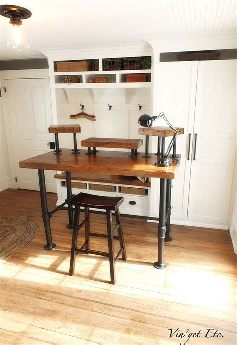 diy desk pipe best 25 pipe desk ideas on industrial pipe desk pipe table and diy pipe