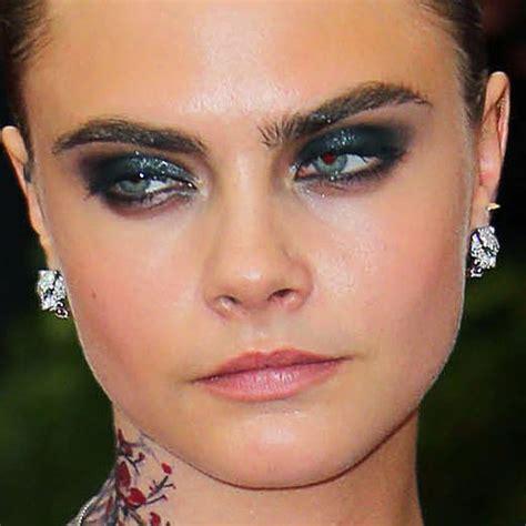 Cara Make cara delevingne makeup style