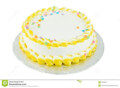 blank festive cake stock image image  colorful frosted