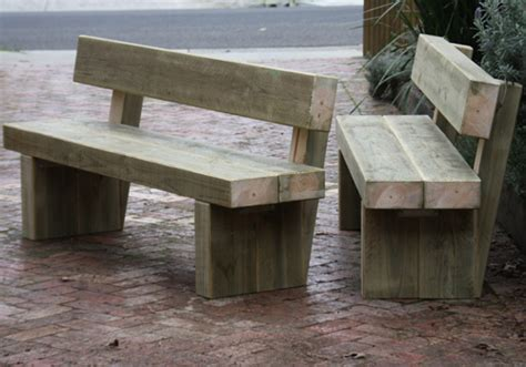 bench sleeper treated pine sleeper bench seat