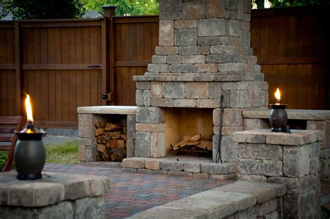 diy fireplace outdoor diy outdoor fremont fireplace kit makes hardscaping simple and fast