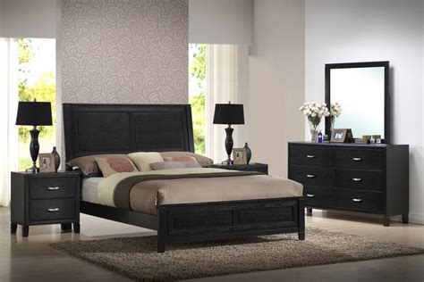 modern bedroom sets king baxton studio eaton cj king 5 piece modern bedroom set
