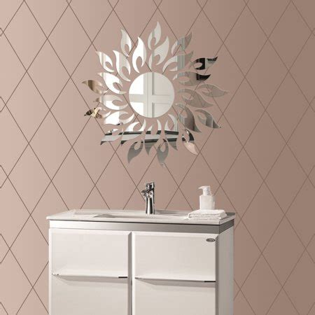 Wall Stickers Mirror Effect