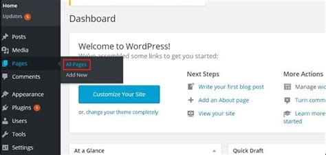 tutorial wordpress editor how to edit pages in wordpress