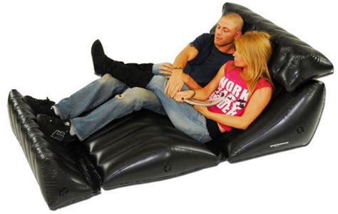blow up recliner inflatable lounge chairs choozone
