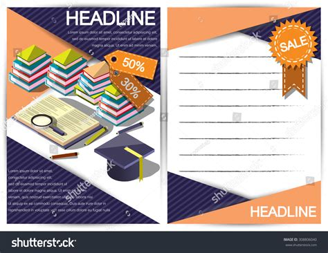 creative report templates creative report template fl yer brochure stock vector