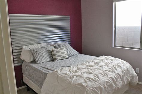 corrugated tin headboard pin by tiffany snyder on creative fun and need to try