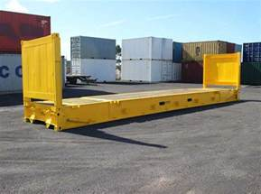 flat rack shipping containers in usa hire and sale