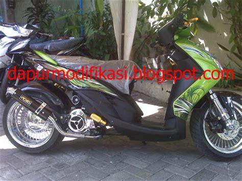 Stang Stir Yamaha Fino Barang Asli sobir modifikasi matic lowrider