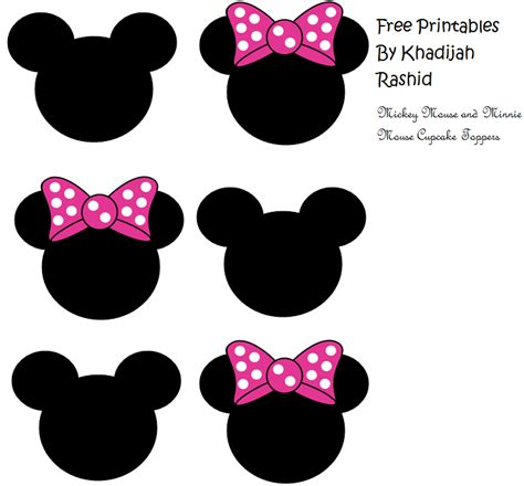 minnie mouse cake template free mickey mouse and minnie mouse cupcake toppers i couldn t