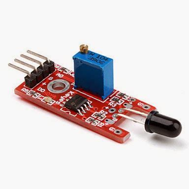 a flame following robot without microcontroller ~ make