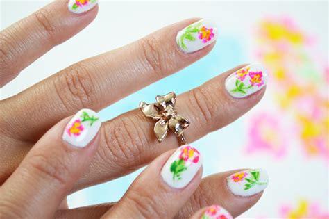 Nail Sticker Sticker Kuku White Soul mr kate diy artist paint floral nail