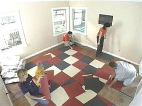 carpet square how to install carpet tiles how tos diy