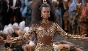 vanessa bell calloway wears coming to america costume and
