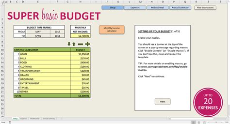 j money s free budget spreadsheet excel google doc budget