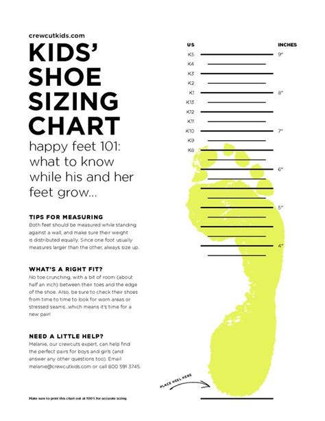 Scope Of Work Template Kids Pinterest Shoe Measuring Template