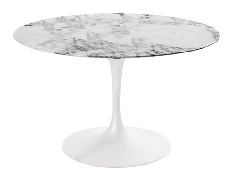 saarinen tisch saarinen dining table arabescato marble hivemodern
