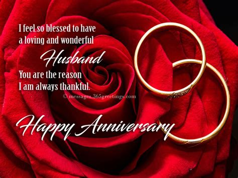Wedding Anniversary Greetings To Husband From by Anniversary Wishes For Husband 365greetings