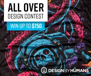 design by humans contest design by humans looks to expand their all over collection
