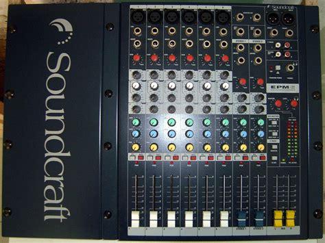 Soundcraft Epm 6 soundcraft epm6 image 223978 audiofanzine