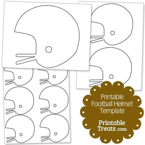 football helmet template printable football helmet template from printabletreats