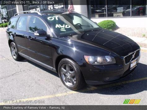 2007 volvo v50 t5 black 2007 volvo v50 t5 black interior gtcarlot