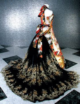 Dress Miyabi 4 10 wedding dresses made from japanese kimonos