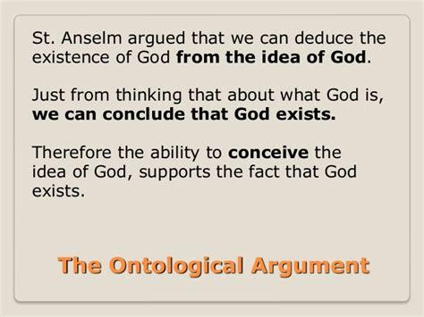 Ontological Argument Anselm Essay by Ontological Argument Essay Conclusion Presentationbackgrounds Web Fc2