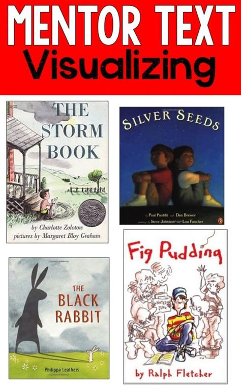 teaching visualization with picture books reading mentor texts great books for teaching students how