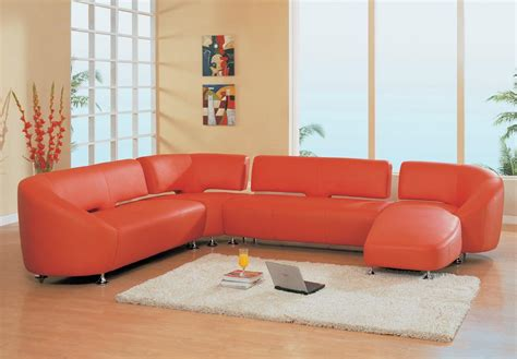 modern sofa sectionals modern leather sectional sofa decobizz com