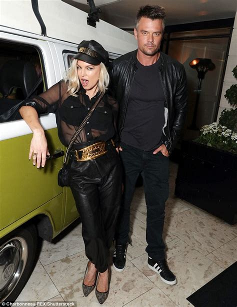 Name The Bag Fergie by Fergie And Josh Duhamel Rock Leather Looks At Spaceman