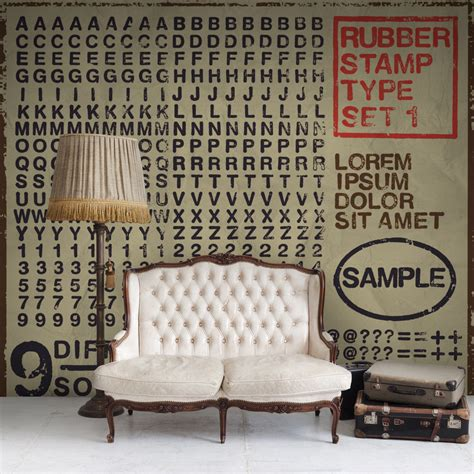 large rubber sts for walls rubber st rebel walls touch of modern