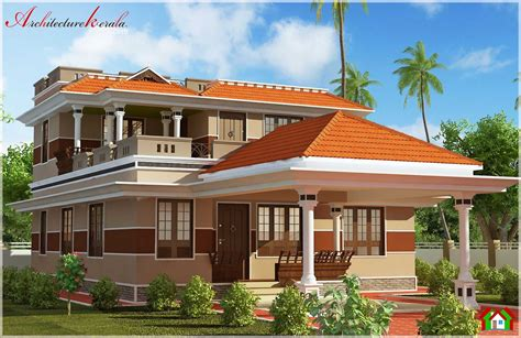 Attractive Kerala House With Pooja Room In 2000 Square Kerala House Plans With Pooja Rooms