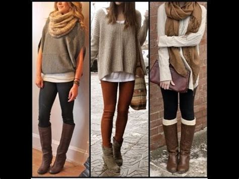 Imagenes De Outfits Invierno 2015 | outfits casuales oto 241 o invierno 2015 youtube