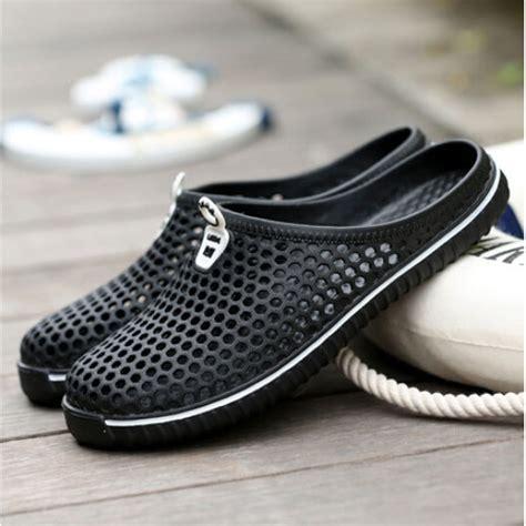 Sepatu Santai sepatu sendal slip on santai size 42 black